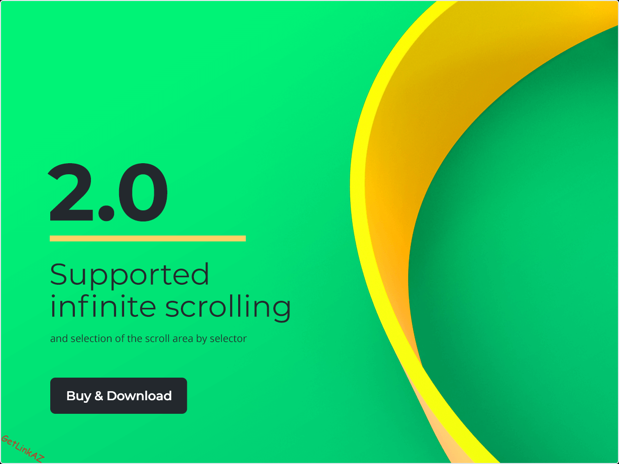 Added support of infinite scrolling